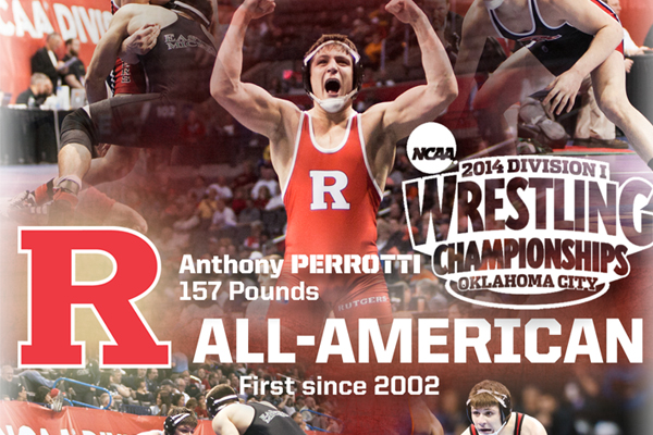 Anthony Perrotti Becomes First All-American Since 2002 - Rutgers