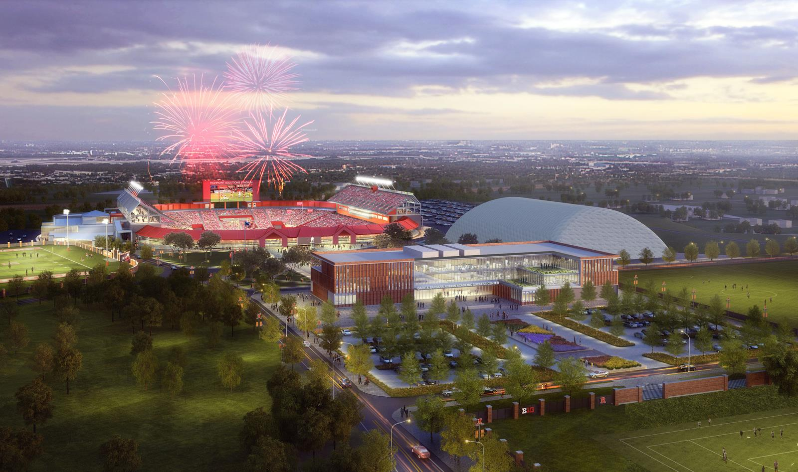 Largest Gift in Athletics History Enables Build of Gary and