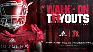 Walk-on Tryout Graphic 2019