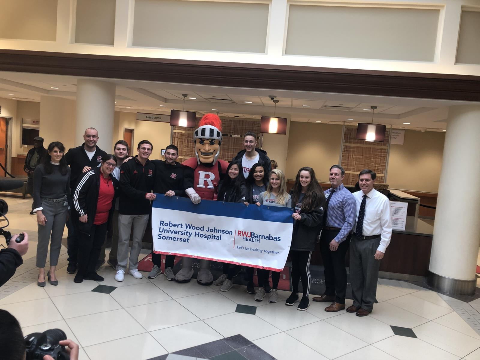 best website c09c7 83148 Rutgers Athletics and RWJ Barnabas Health Team Up for ...