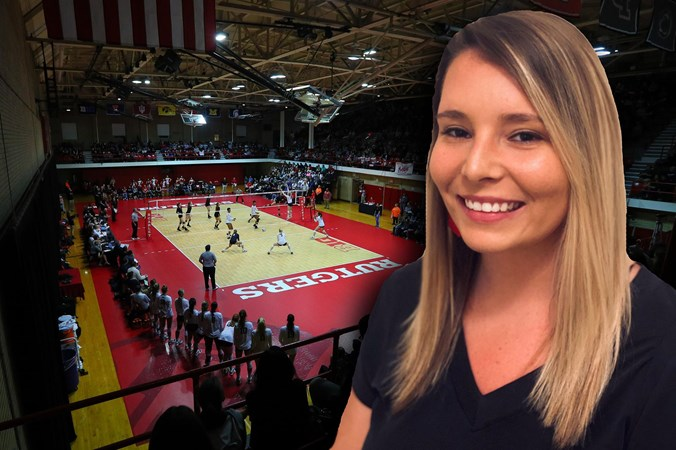 20 Questions With Volleyball Director of Operations Emily Rochefort - Rutgers University Athletics