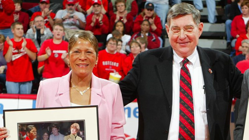 C. Vivian Stringer & Bob Mulcahy to be Inducted into the New Jersey Hall of Fame - Rutgers University Athletics