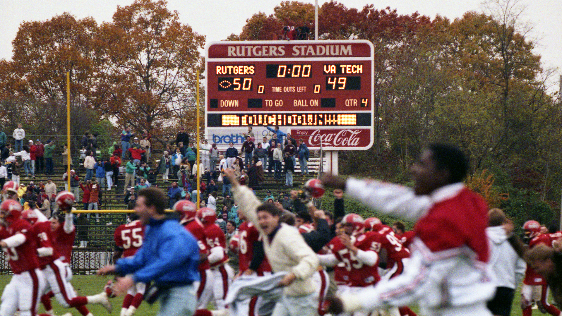 Rutgers Halloween Events 2020 1992 Halloween Homecoming Comeback to Air Saturday on BTN